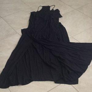 VIX Paul Ahrtmanny long flowy dress/coverup SZ XS
